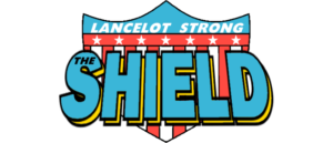 LANCELOT STRONG THE SHIELD – STEEL STERLING (1983)