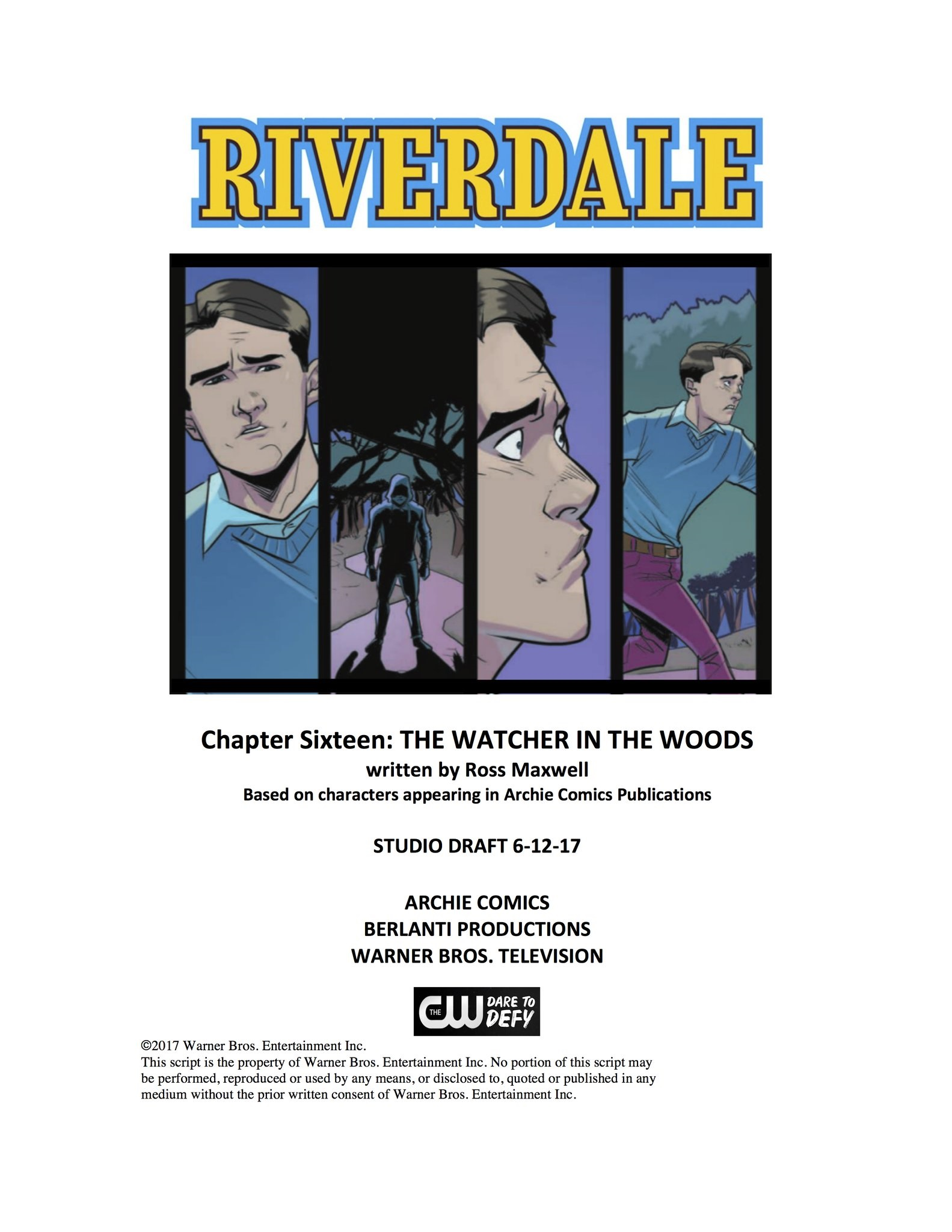 RIVERDALE S2E3 – THE MIGHTY CRUSADERS NETWORK