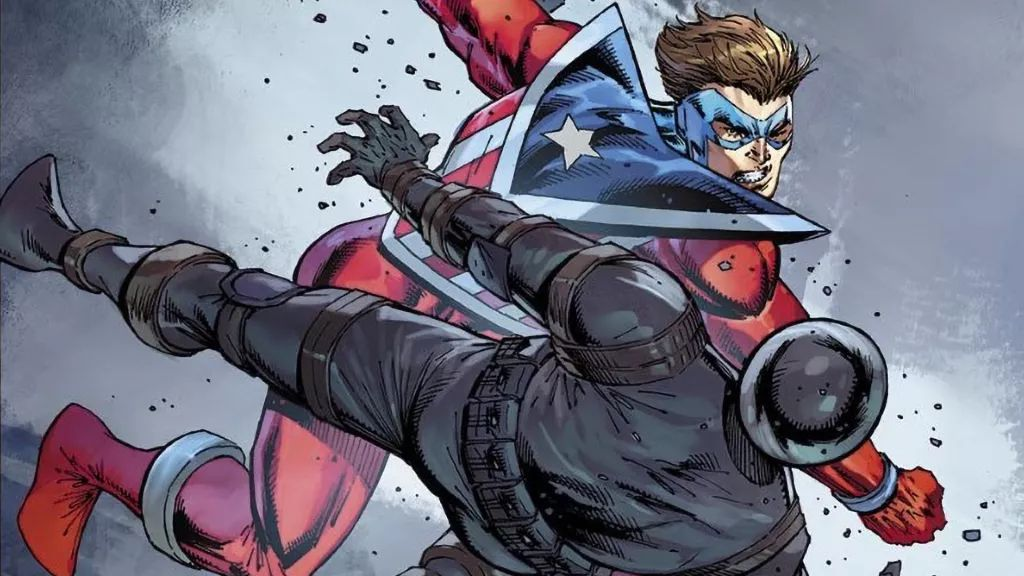 The Mighty Crusaders return this June in The Shield #1 from Rob Liefeld